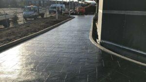 DCS KFC Trevenson Gateway, Camborne Printed Concrete Drive-Thru 1046
