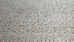 Biscuit Cheshire Cobble Printed Concrete Driveway
