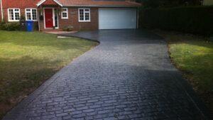 Printed Concrete Driveway by DCS