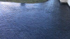 Printed Concrete Driveway