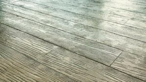 Printed Concrete Wood Effect Patio