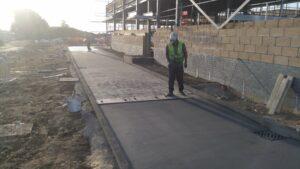 DCS McDonald's KFC Ely Leisure Village Printed Concrete Drive-Thru Lanes 0840