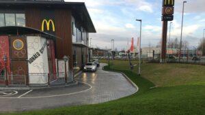DCS McDonald's Waterlooville Printed Concrete Drive-Thru 0855
